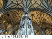 Innenraum des Stephansdom in Wien, Österreich, Europa | St. Stephen... Стоковое фото, фотограф Peter Schickert / age Fotostock / Фотобанк Лори