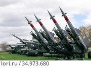 Anti-aircraft missile system S-125 Neva. Редакционное фото, фотограф Анна Майорова / Фотобанк Лори
