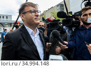 Berlin, Germany. Medical condition of the Russian opposition leader... Редакционное фото, фотограф Guido Koppes / age Fotostock / Фотобанк Лори