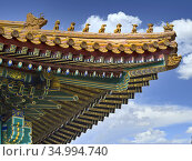 The Forbidden City was the Chinese imperial palace from the Ming ... Стоковое фото, фотограф Luis Castañeda / age Fotostock / Фотобанк Лори