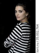 Joana Ribeiro poses for a photo session on May 29, 2018 in Madrid... Редакционное фото, фотограф Nacho López / age Fotostock / Фотобанк Лори