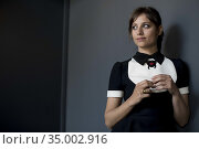 Michelle Jenner poses for a photo session on May 8, 2018 in Madrid... Редакционное фото, фотограф Nacho López / age Fotostock / Фотобанк Лори