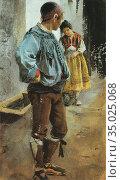Zorn Anders - Adios Maria - Swedish School - 19th Century. Редакционное фото, фотограф Artepics / age Fotostock / Фотобанк Лори