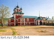Smolensk Church of the Epiphany Monastery in Uglich (2019 год). Стоковое фото, фотограф Юлия Бабкина / Фотобанк Лори