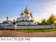 Resurrection Monastery in Uglich (2019 год). Стоковое фото, фотограф Юлия Бабкина / Фотобанк Лори