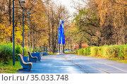 Москва, Парк Северное Тушино. Стоковое фото, фотограф Николай Коржов / Фотобанк Лори