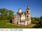 Church of the Ascension in Rostov (2019 год). Стоковое фото, фотограф Юлия Бабкина / Фотобанк Лори