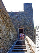 Access, stairway, Basilica, Santuary, Nostra, Senyora, Meritxell, ... Стоковое фото, фотограф Alfred Abad / age Fotostock / Фотобанк Лори