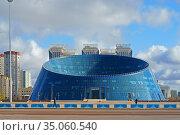 Kazakh National University of Arts. Nur Sultan. Редакционное фото, фотограф Валерия Попова / Фотобанк Лори