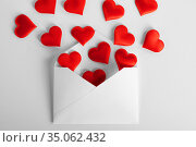 Valentine day love letter. Стоковое фото, фотограф Иван Михайлов / Фотобанк Лори