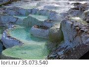 Salt hill in Egerszalok, Hungary. Стоковое фото, фотограф Яков Филимонов / Фотобанк Лори