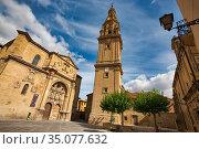Cathedral of Santo Domingo de la Calzada, Way of Saint James, Camino... Стоковое фото, фотограф Javier Larrea / age Fotostock / Фотобанк Лори