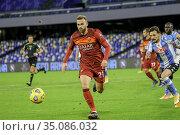 Borja Mayoral (Roma) during the match ,Naples, ITALY-29-11-2020. Редакционное фото, фотограф Fabio Sasso / AGF/Fabio Sasso / AGF / age Fotostock / Фотобанк Лори