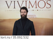 Javier Rey attends 'El verano que vivimos' Photocall at Four Seasons... Редакционное фото, фотограф Manuel Cedron / age Fotostock / Фотобанк Лори