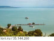 Lake Balaton (2007 год). Стоковое фото, фотограф Юлия Бабкина / Фотобанк Лори