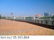 Left-bank park. Rostov-on-Don. Russia (2018 год). Стоковое фото, фотограф Арестов Андрей Павлович / Фотобанк Лори