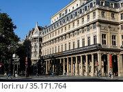 Palais Royal, Paris, France. Стоковое фото, фотограф Philippe Lissac / Godong / age Fotostock / Фотобанк Лори