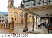 Cathedral of Mondoñedo. Camino de Santiago Norte. Lugo province. ... Стоковое фото, фотограф Jacobo Hernández / age Fotostock / Фотобанк Лори