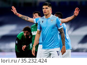 Joaquin Correa (Lazio) during the match ,Rome, ITALY-24-01-2021. Редакционное фото, фотограф Federico Proietti / Sync / AGF/Federico Proietti / / age Fotostock / Фотобанк Лори