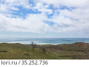 View of a beautiful seashore. Стоковое фото, фотограф Юрий Бизгаймер / Фотобанк Лори