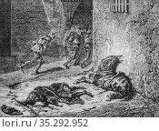 Assassinat du duc d'orleans1380-1415, histoire populaire de France... Редакционное фото, фотограф Louis Bertrand / age Fotostock / Фотобанк Лори