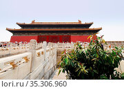 Verbotenen Stadt, Peking, China | Forbidden City, Beijing. Стоковое фото, фотограф Zoonar.com/Rees Peter / easy Fotostock / Фотобанк Лори