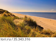 Landscape at the beach of Sylt, Germany, Europe. Стоковое фото, фотограф Zoonar.com/Marc Schmerbeck / easy Fotostock / Фотобанк Лори