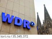 WDR, Cologne, North Rhine-Westphalia, Germany. Редакционное фото, агентство Caro Photoagency / Фотобанк Лори