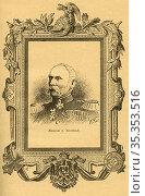 Europa, Deutschland, Hugo Graf von Kirchbach, preußischer General... Редакционное фото, фотограф Historisches Auge Ralf Feltz / age Fotostock / Фотобанк Лори