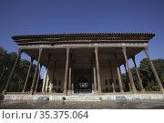 Chehel Sotoun palace, Isfahan, Iran. Стоковое фото, фотограф Massimo Pizzotti / age Fotostock / Фотобанк Лори