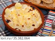 Cauliflower and cheese casserole. Стоковое фото, фотограф Яков Филимонов / Фотобанк Лори