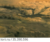 MARS Valles Marineris -- Apr / May 2004 -- This perspective image... Редакционное фото, фотограф Jonathan William Mitchell / age Fotostock / Фотобанк Лори