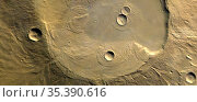 MARS Apollinaris Patera -- 2004 -- The caldera of Apollinaris Patera... Редакционное фото, фотограф Jonathan William Mitchell / age Fotostock / Фотобанк Лори