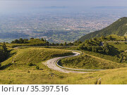 Summer landscape near Monte Grappa, Northern Italy. Стоковое фото, фотограф Richard Semik / easy Fotostock / Фотобанк Лори