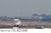 Boeing 747 of Kalitta Air (2019 год). Редакционное видео, видеограф Игорь Жоров / Фотобанк Лори