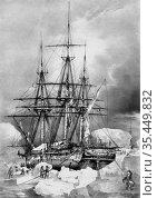 ANTARCTICA -- 06 Feb 1838 -- An expediton to the Antarctica by the... Редакционное фото, фотограф Jonathan William Mitchell / age Fotostock / Фотобанк Лори