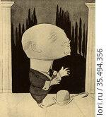 Gabriele D'Annunzio (1863-1938) Italian journalist, novelist, poet... Редакционное фото, агентство World History Archive / Фотобанк Лори