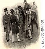The Adventure of Silver Blaze'. Sherlock Holmes revealing the murderer... Редакционное фото, агентство World History Archive / Фотобанк Лори