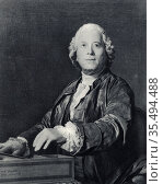 Christoph Willibald Gluck (1714-1787) Bohemian German composer. Редакционное фото, агентство World History Archive / Фотобанк Лори