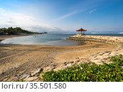 The coast of Indian ocean on island Bali (2018 год). Стоковое фото, фотограф Юлия Белоусова / Фотобанк Лори