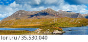 Panoramic landscape with lake from Pines Island Viewpoint in Galway... Стоковое фото, фотограф Zoonar.com/Boris Breytman / easy Fotostock / Фотобанк Лори