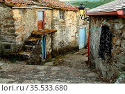Rustic part in the town. Viana do Bolo, Orense, Spain. Стоковое фото, фотограф Pablo Méndez / age Fotostock / Фотобанк Лори