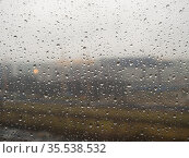 Raindrops on a cloudy day. Стоковое фото, фотограф Argument / Фотобанк Лори