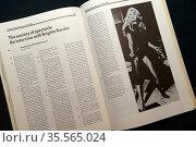 issue of 'The Situationist International' (SI), an international ... Редакционное фото, агентство World History Archive / Фотобанк Лори