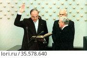 Helmut Josef Michael Kohl (born 3 April 3 1930)  German conservative... Редакционное фото, агентство World History Archive / Фотобанк Лори
