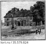 School House, Fishponds, Bristol, birthplace of Hannah More (1745... Редакционное фото, агентство World History Archive / Фотобанк Лори