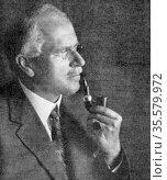 Carl Gustav Jung (1875-1961) Swiss psychoanalyst. Редакционное фото, агентство World History Archive / Фотобанк Лори