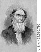 Alexander Dallas Bache (1806-67) American geophysicist; superintendent... Редакционное фото, агентство World History Archive / Фотобанк Лори