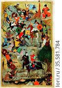Tamerlaine (Tamerlane/Timur-i-Lang) 1336-1404 Turkic conqueror. Timur... Редакционное фото, агентство World History Archive / Фотобанк Лори