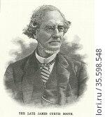 James Curtis Booth (1810-1888) American chemist, born in Philadelphia... Редакционное фото, агентство World History Archive / Фотобанк Лори